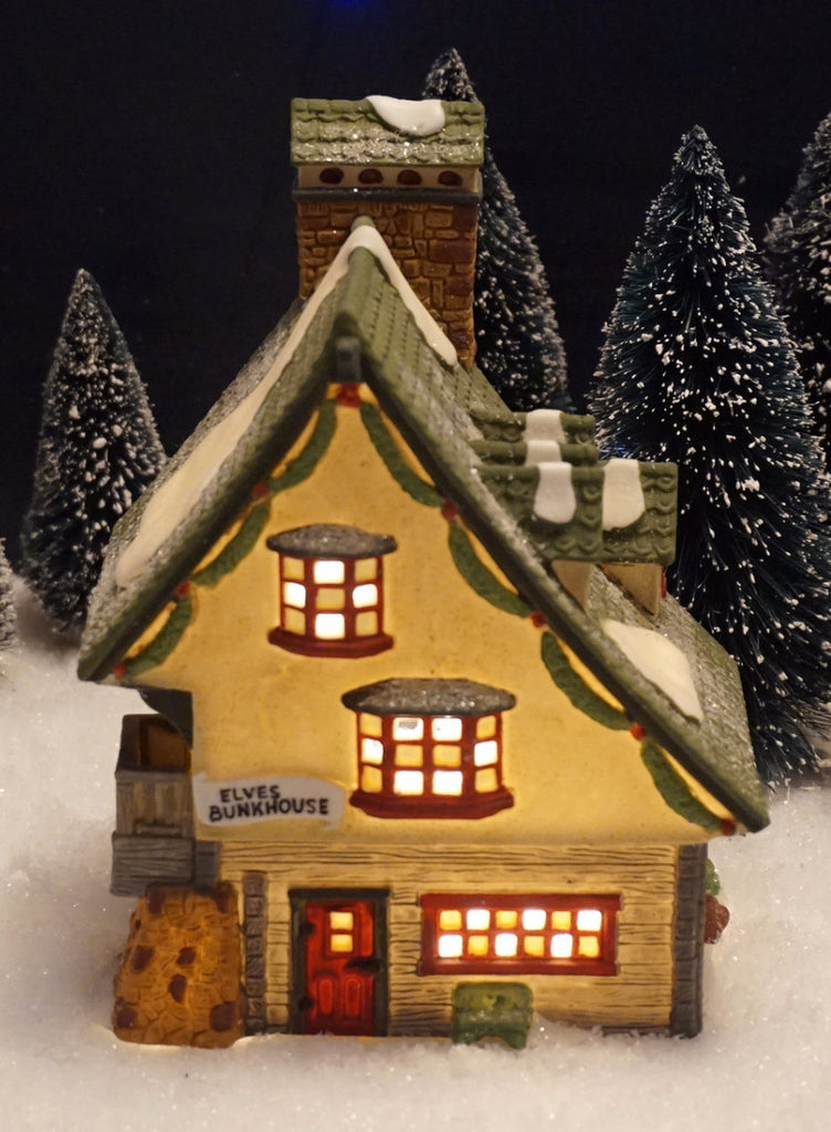 Department 56 North Pole Series - Elf Bunkhouse. Item number 56014.