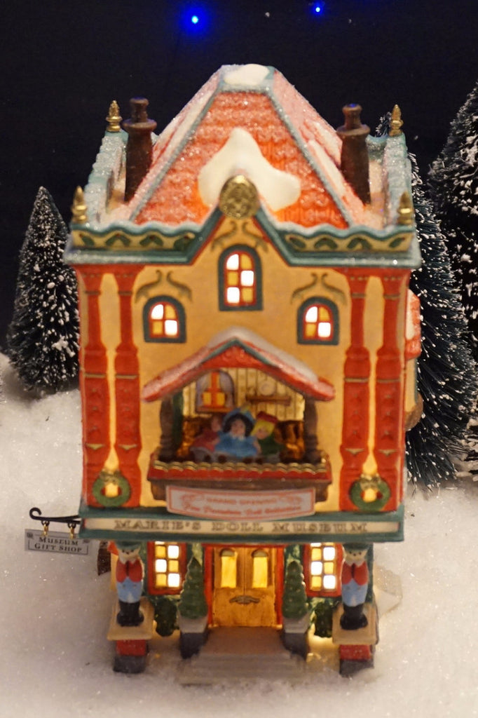 Department 56 North Pole Series - Marie's Doll Museum. Item number 56408.