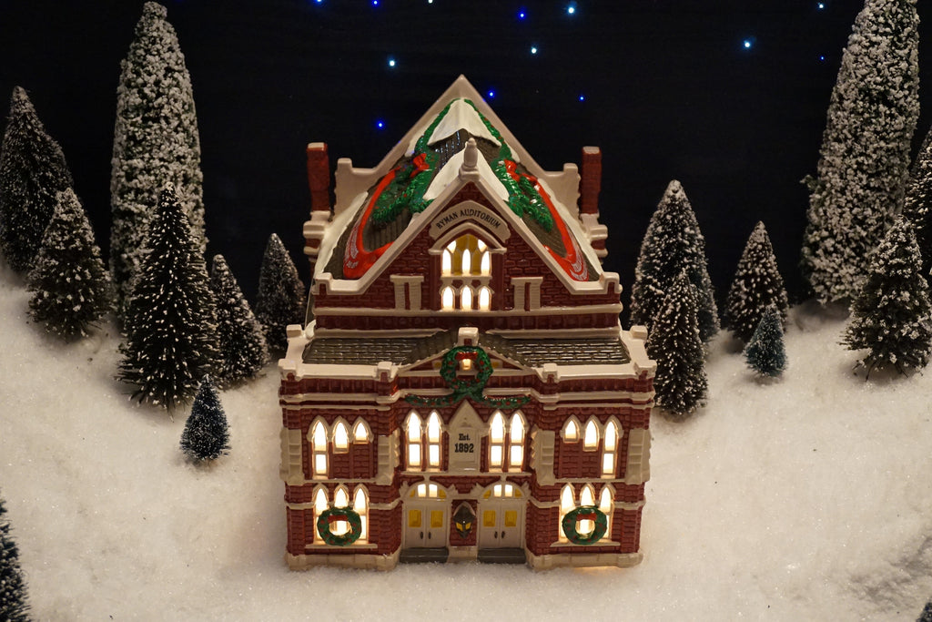 Department 56 Snow Village Series - Ryman Auditorium - Home of the Grand Ole Opry. Item number 54855