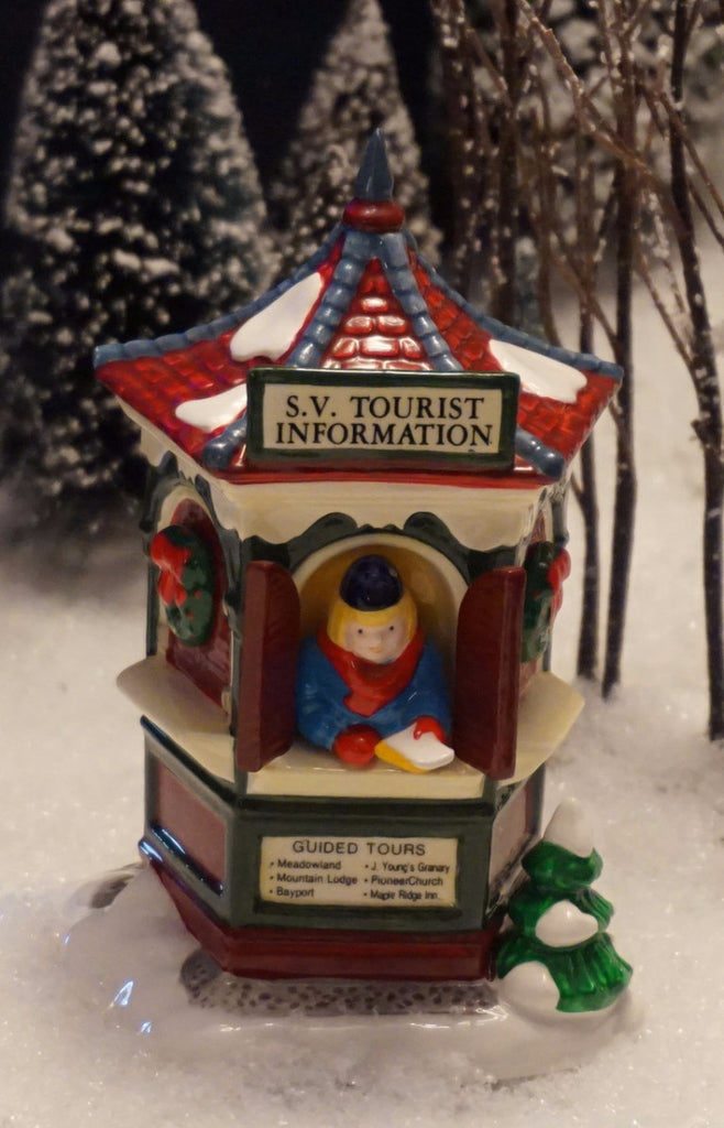 Department 56 Snow Village Series - Tour the Village. Item number 54526.