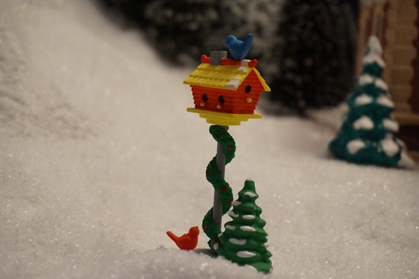 Department 56 Snow Village Series - A Home for the Holidays. Item number 51659.