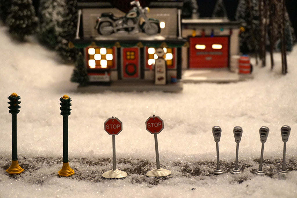 Department 56 Snow Village Series - Utilities. Item number is 55123.