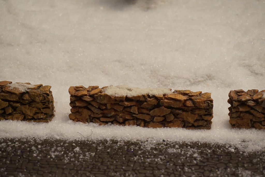 Department 56 Village Series - Stone Wall. Item number 52629.