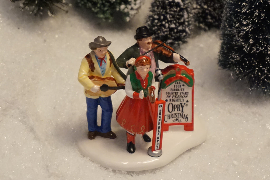 Department 56 Snow Village Series - Grand Ole Opry Carolers. Item number 54867.