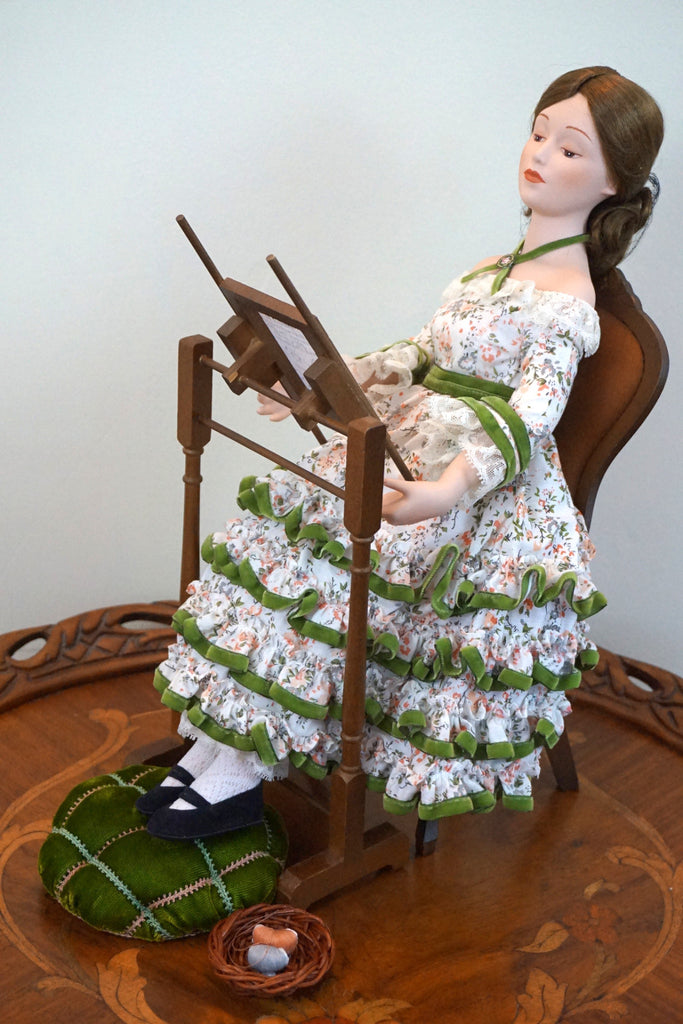 The Sampler doll by the Danbury Mint