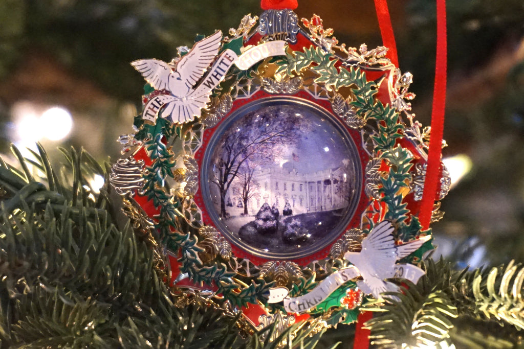White House Historical Association - 2013 edition Christmas ornament honoring President Woodrow Wilson.