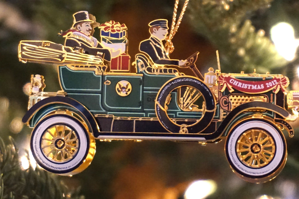 White House Historical Association - 2012 edition Christmas ornament honoring President William Howard Taft