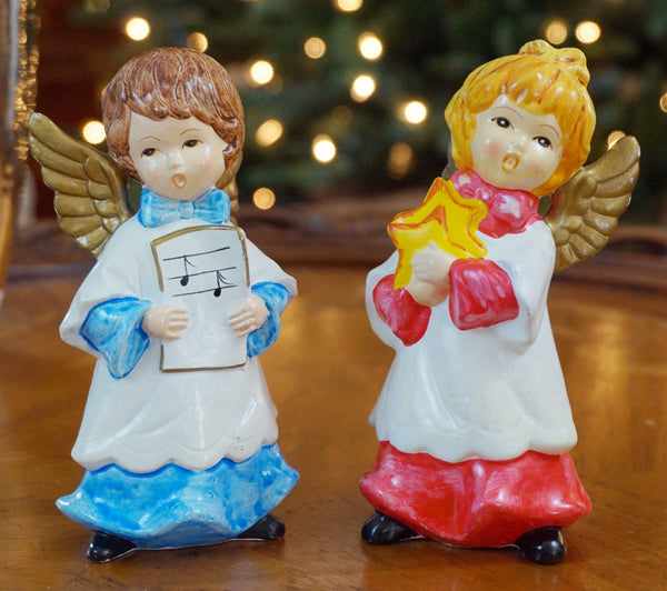 Vintage Angel Carolers