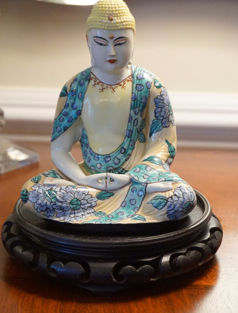 Ceramic Meditating Figure