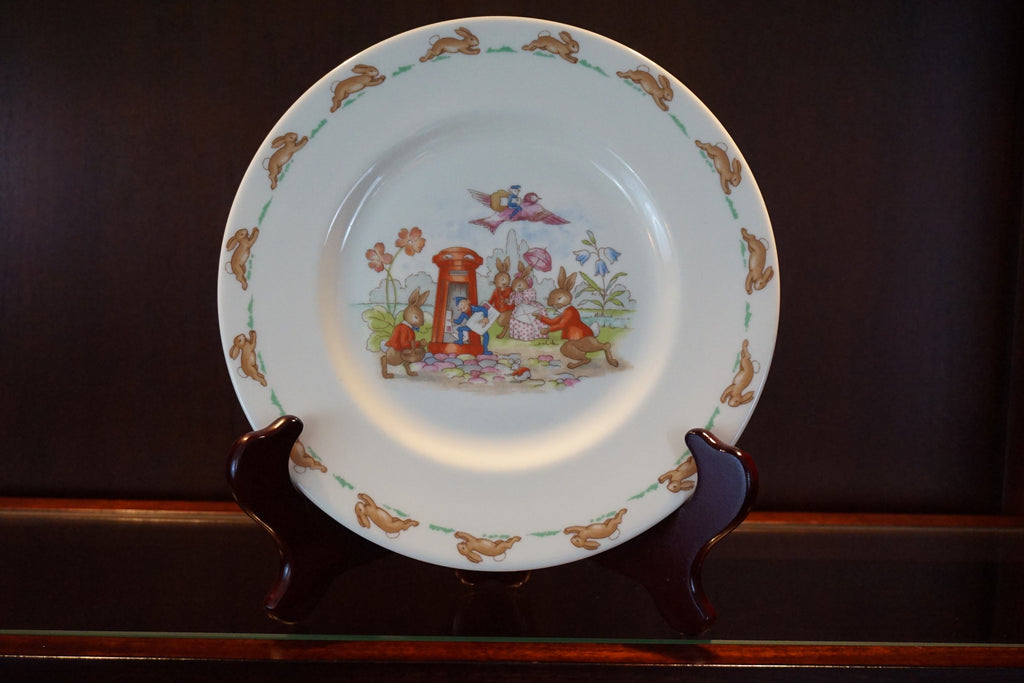 "Royal Doulton ""Bunnykins"" fine bone china plate."