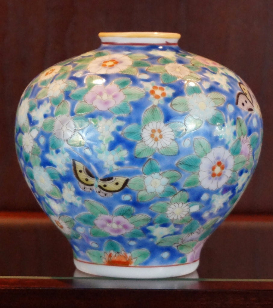 Enameled Porcelain Jar