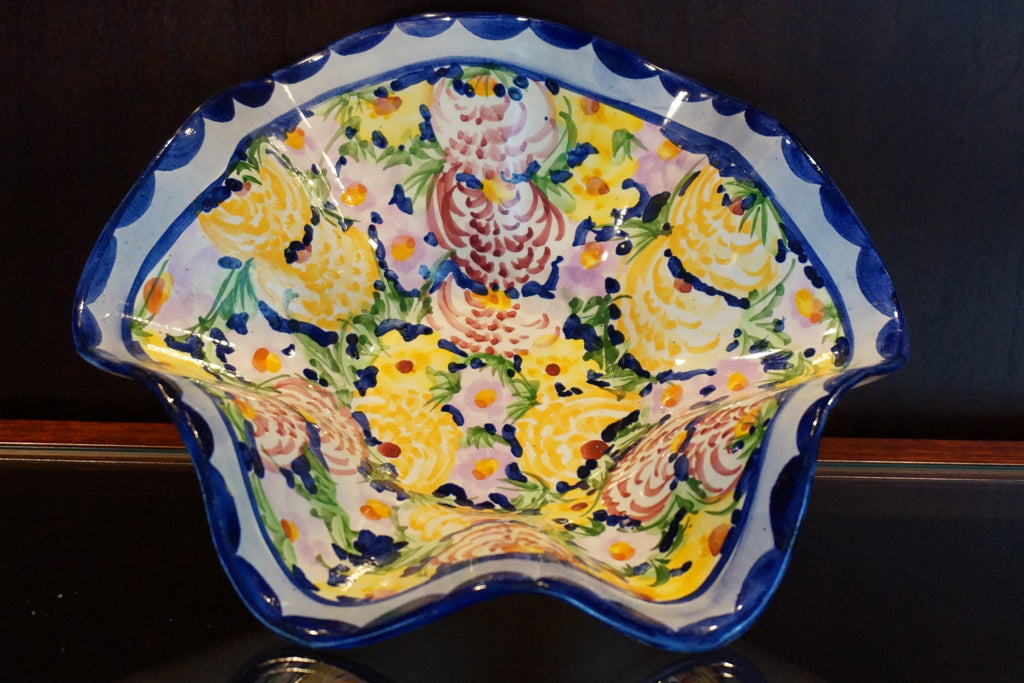 Portuguese Hand Painted Bowl