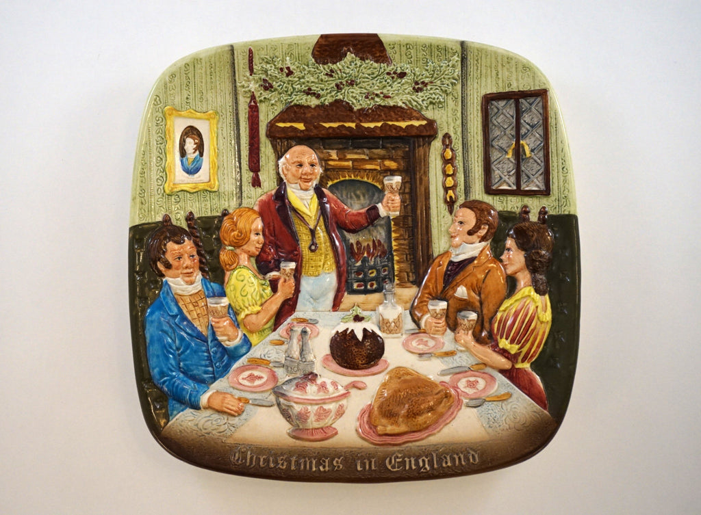 Christmas in England Plate