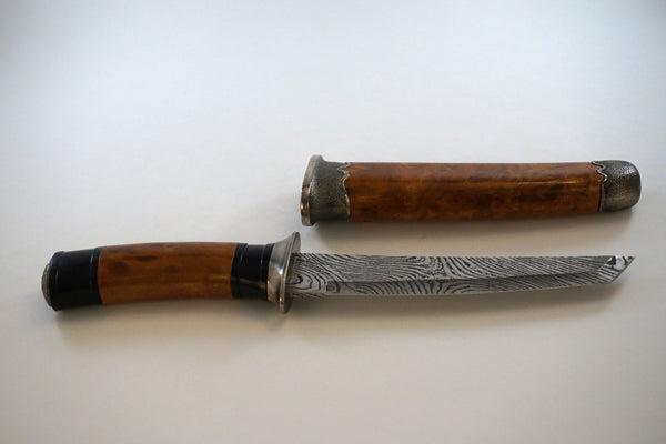 Knife with Thumbprint Blade