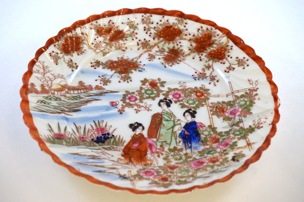 Oriental Themed Plate