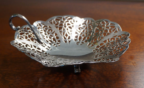 Lovelace Silver Plated Basket