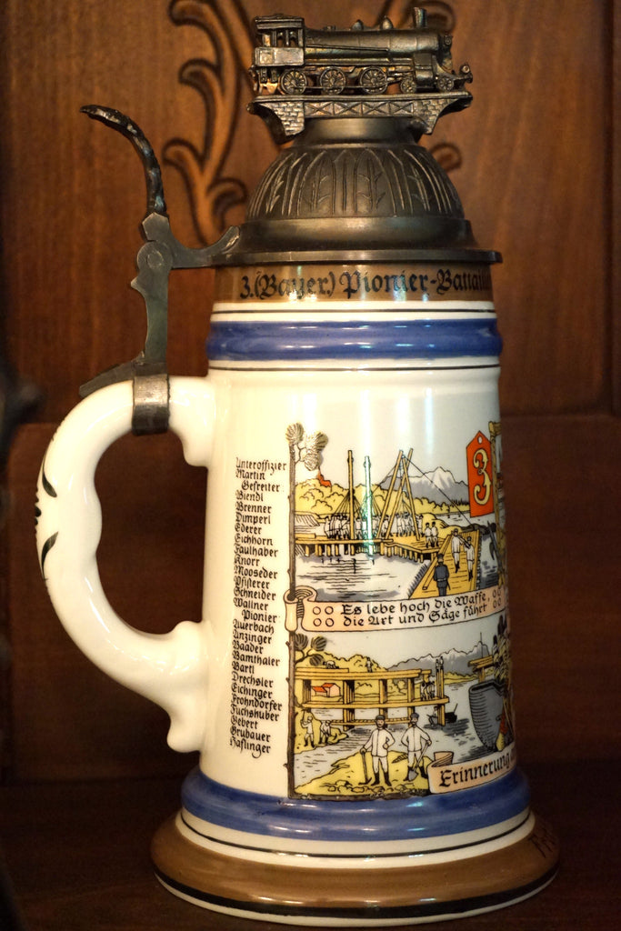 Regimental Lithophane Stein