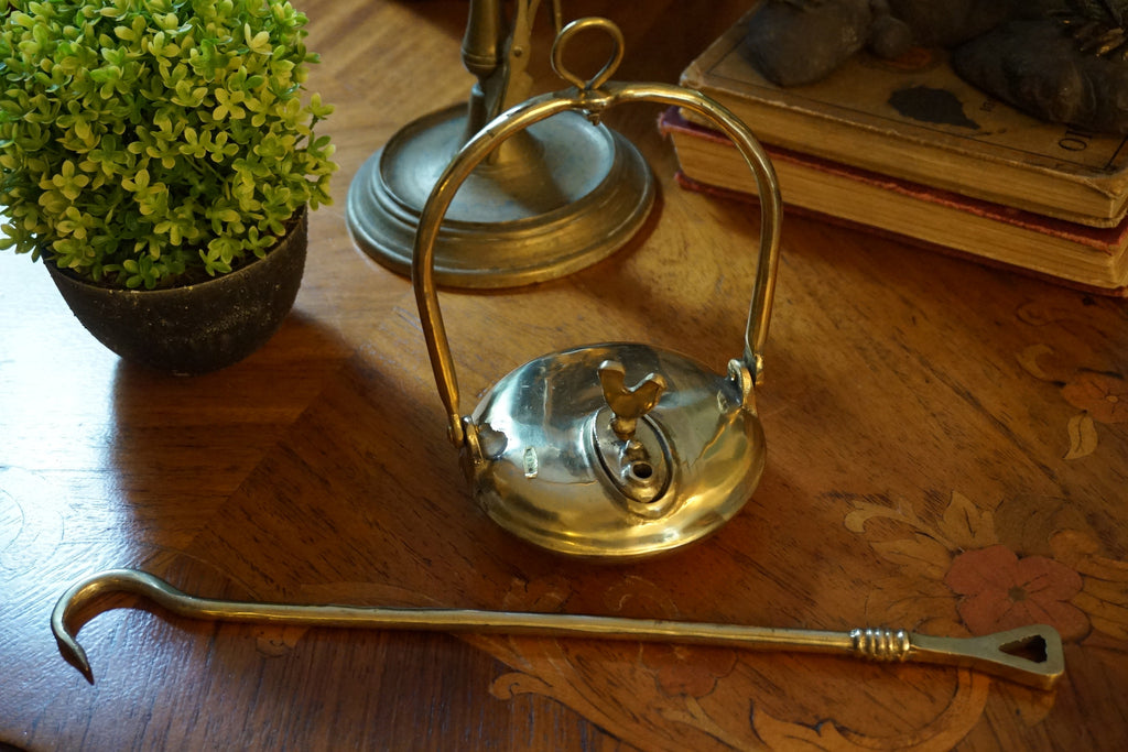 Brass Betty Lamp