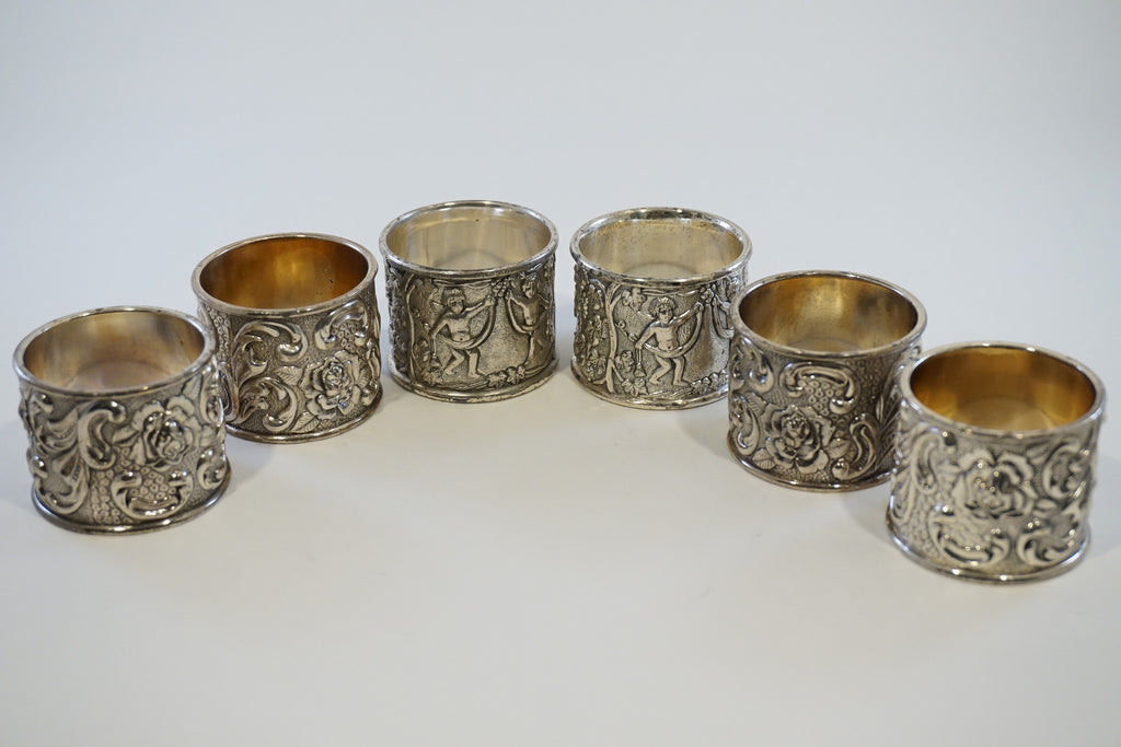 Silver Plated Napkin Rings