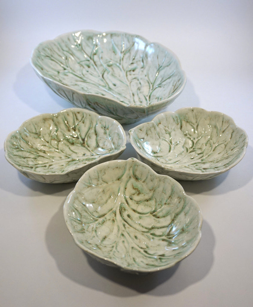 Leaf Shaped Serving Bowls
