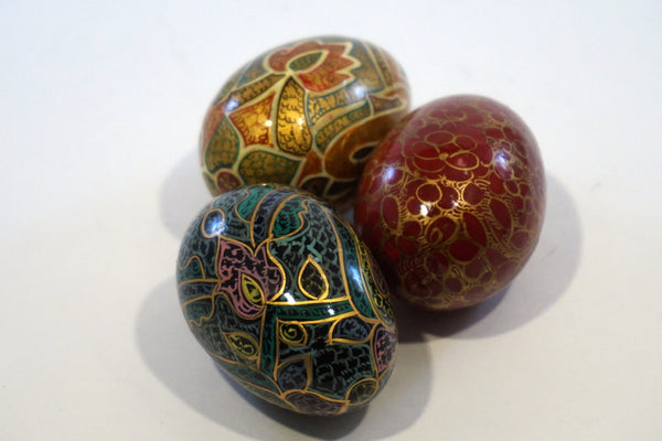 Set of 3 Decorative Eggs