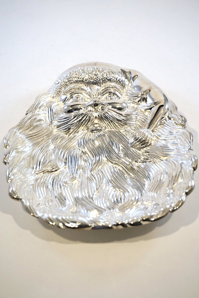 Chrome Santa Tray