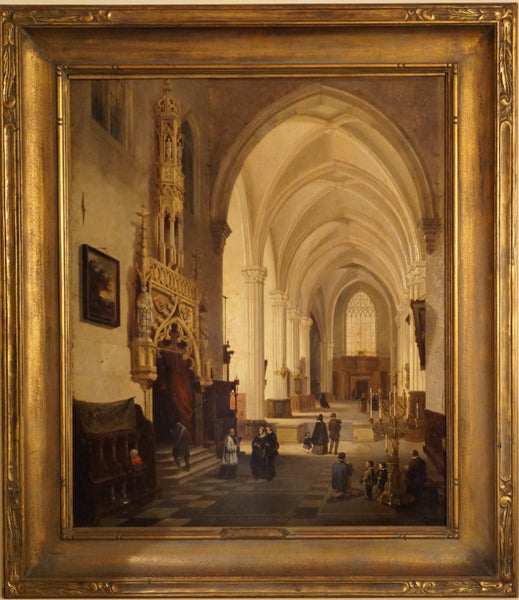 Emile de Cauwer Painting