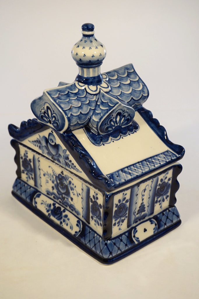 Gzhel Ceramic Box