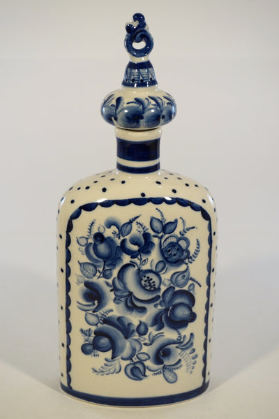 Russian Folk Art Decanter