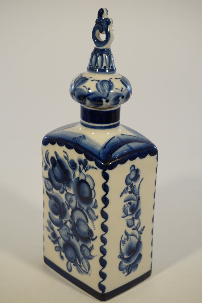 Russian Ceramic Decanter