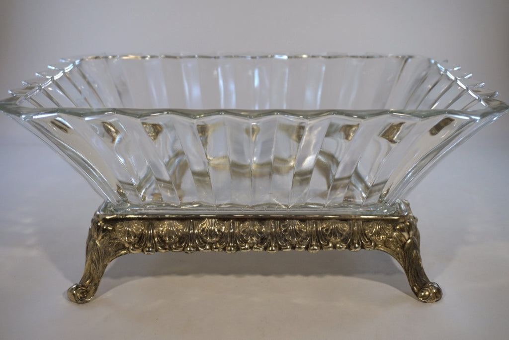 Flared Serving Bowl with Stand