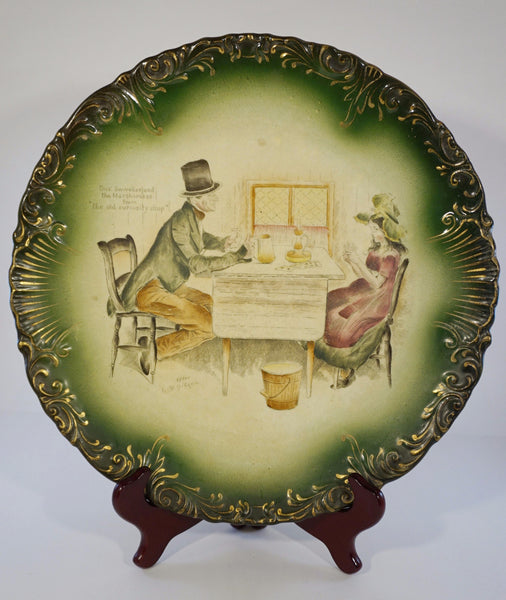 Antique Curiosity Shop Platter