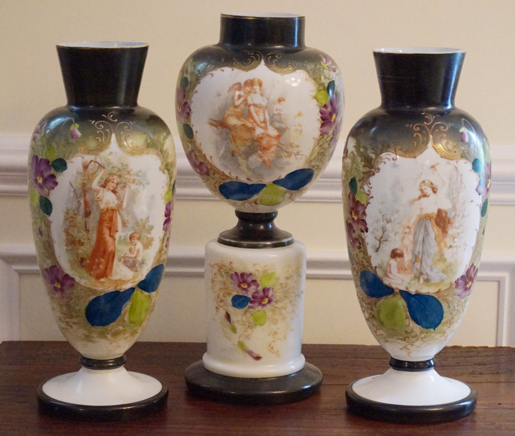 Antique Bristol Glass