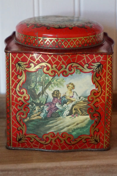 Vintage Tin by Daher