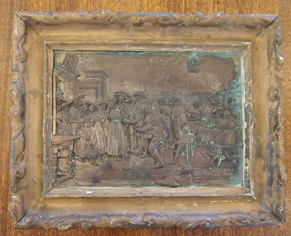 Vintage Copper Tavern Plaque