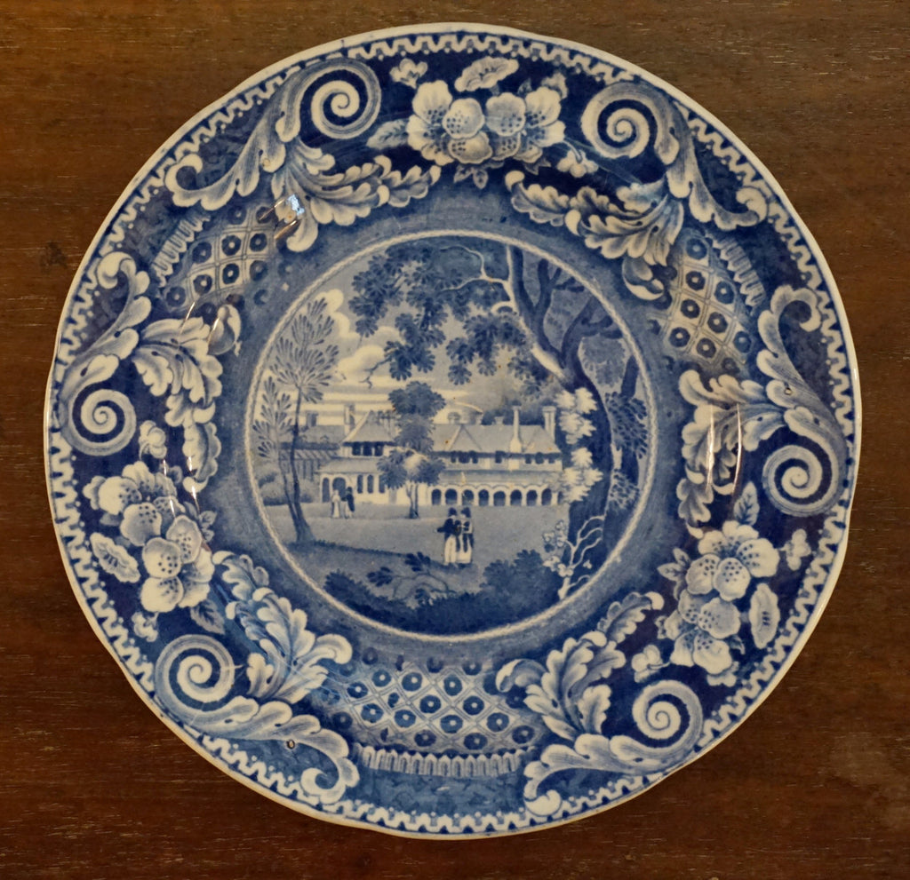 The King's Cottage Plate - 1840