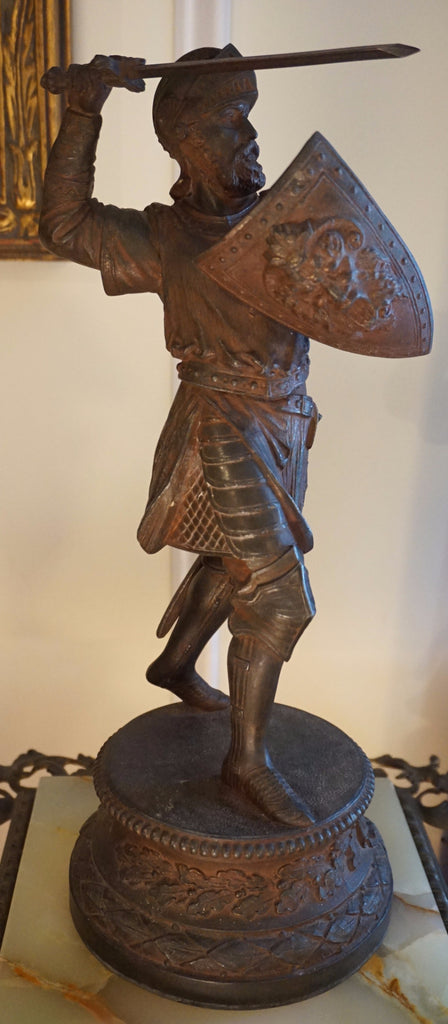 Fighting Knight Statue