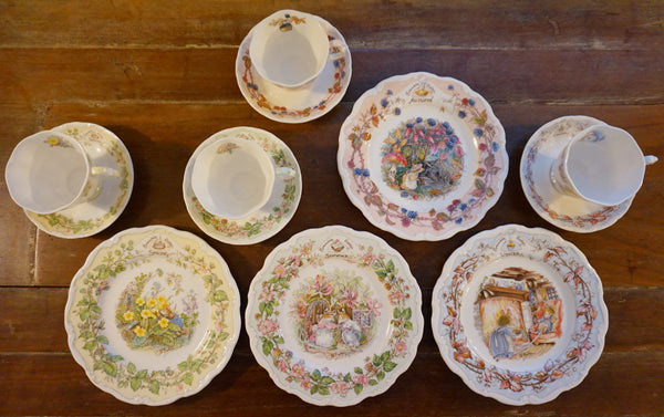 Royal Doulton Four Seasons Set