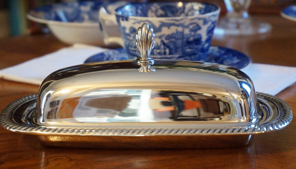 Wm. Rogers Butter Dish