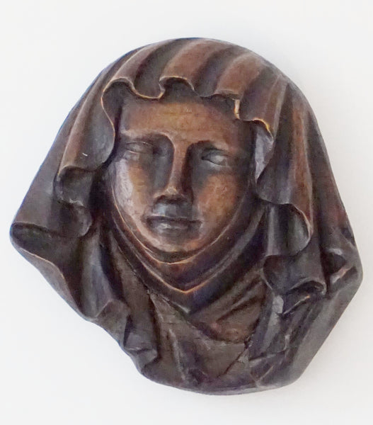 Medieval Lady's Head