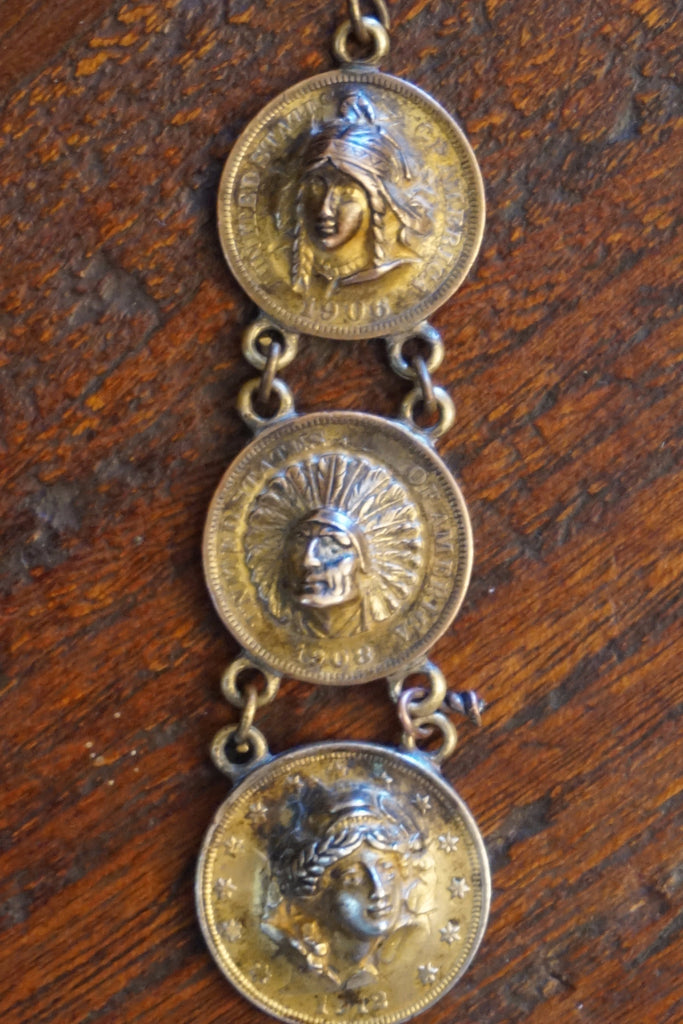 Set of 3 Pop-Out Coin Pendants