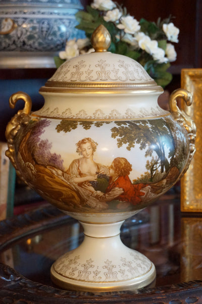 F. Boucher Compote with Lid