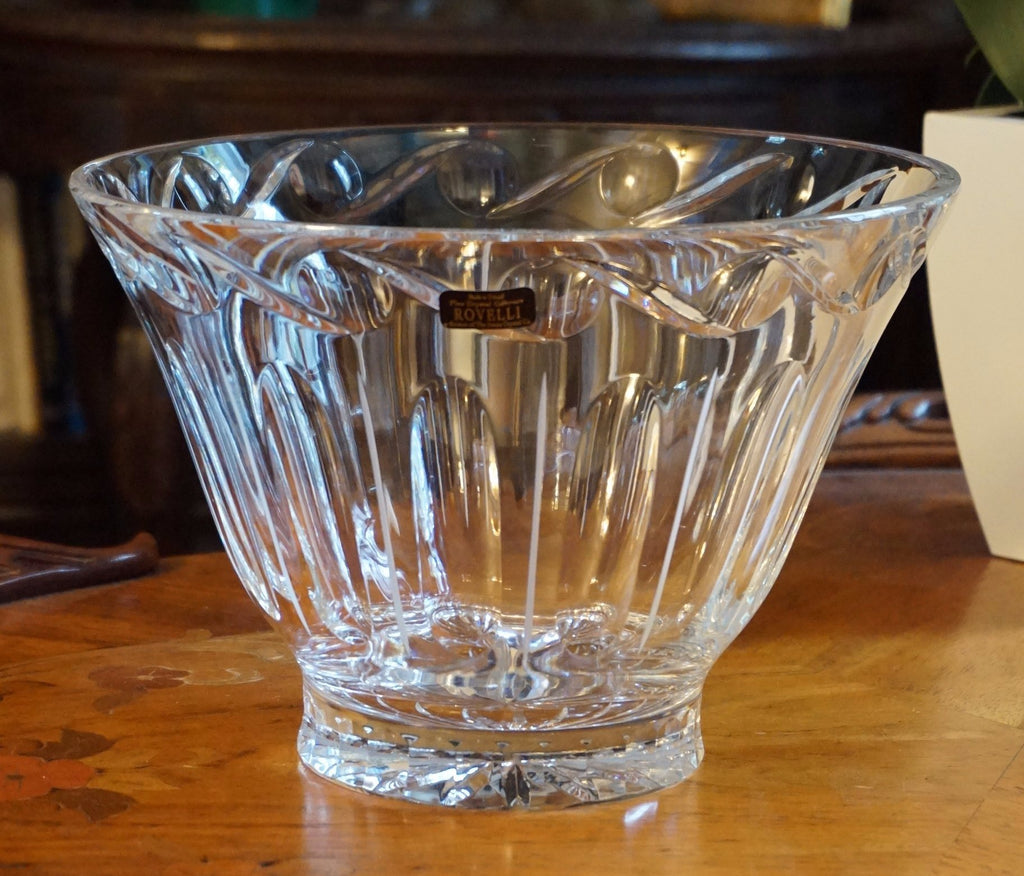 Rovelli Crystal Glass Bowl