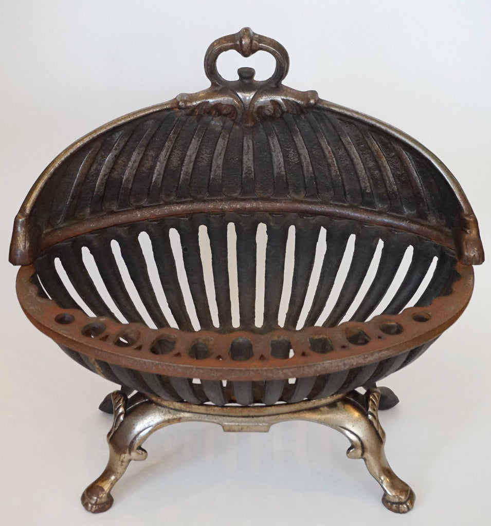 Cast Iron Fireplace Basket