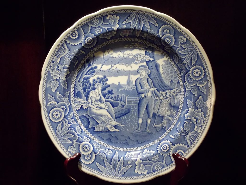 The Spode Blue Room Collection - Woodman plate
