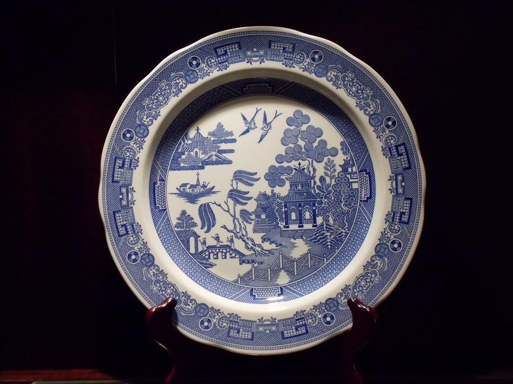The Spode Blue Room Collection - Willow plate