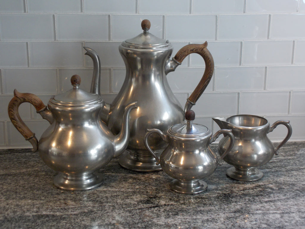 Royal Holland Pewter tea and coffee set