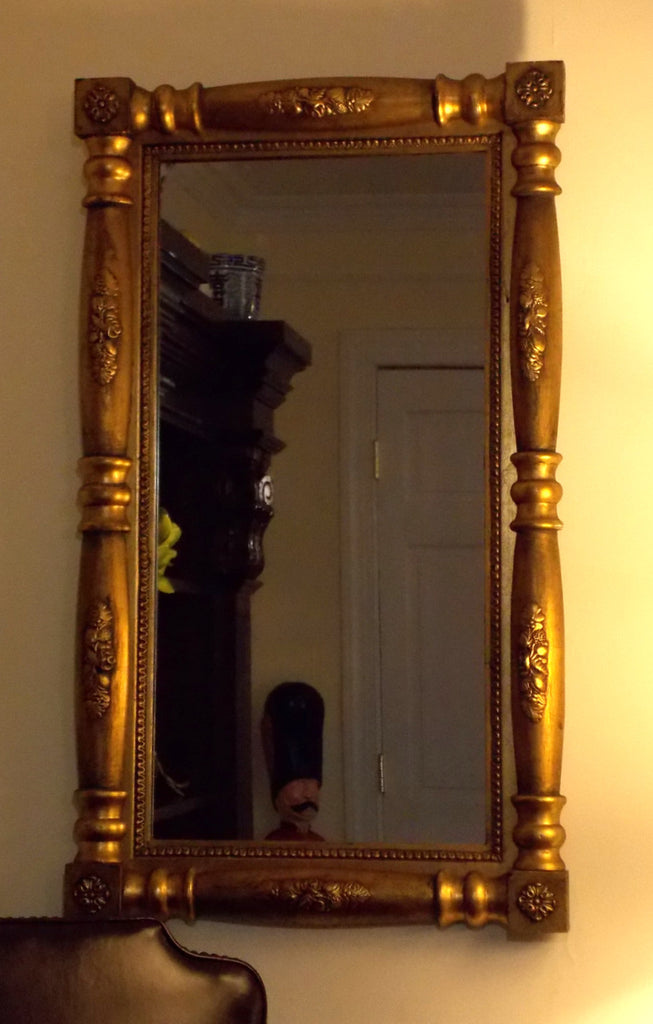 Wall Mirror in Gold Frame