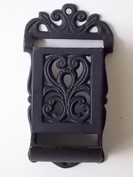 Cast iron match stick holder