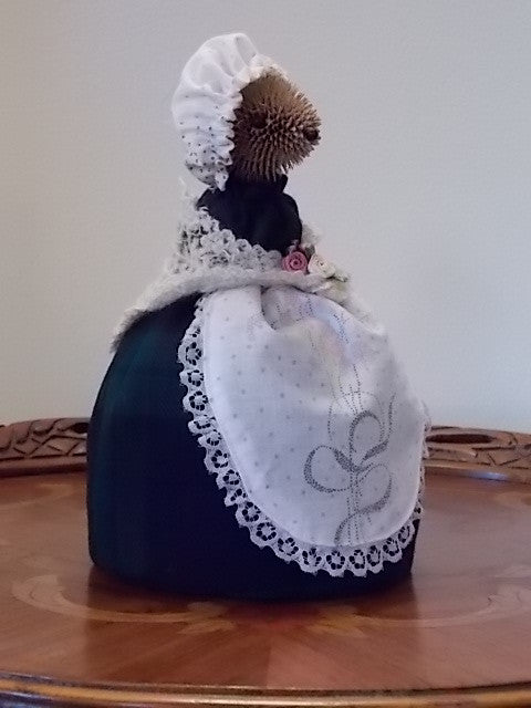 Hedge Hog House Maid Figurine